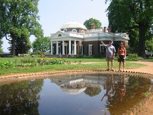Monticello Reflection