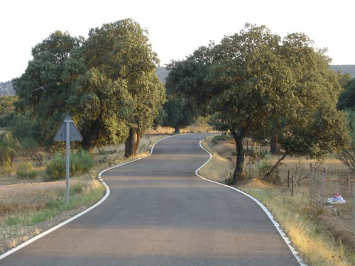 Winding Spanish Road