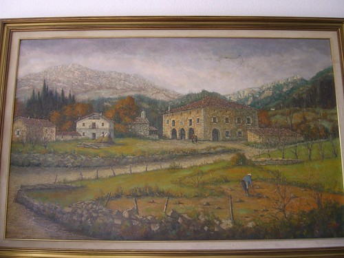 Oil Painting of Etxe Aundi