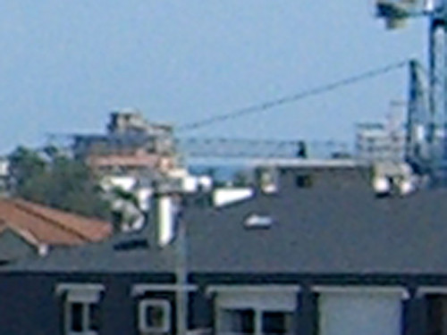 The Sea (zoomed and cropped)