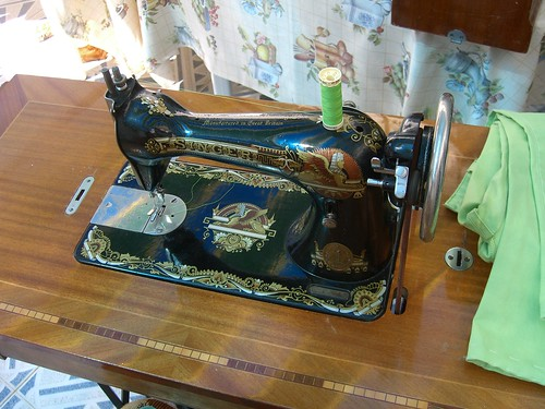 Beautiful Antique Sewing Machine
