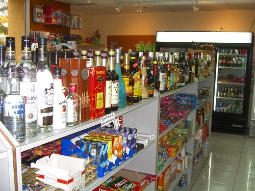 Typical Aruban Convenience Store
