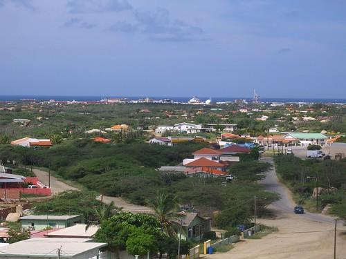 View over Aruba