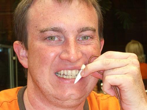 White shark's tooth 2