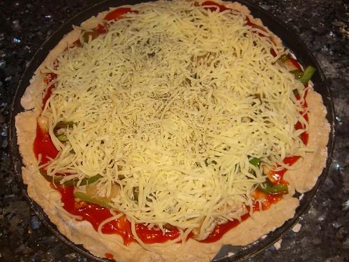 Step 4: Mozzarella