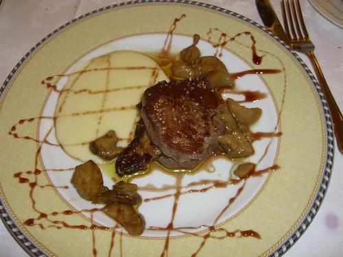 Sirloin Steak STUFFED with Foie!