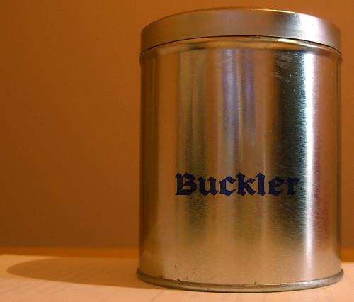 Buckler Candle Tin