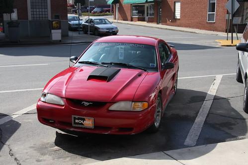 Handicap Mustang