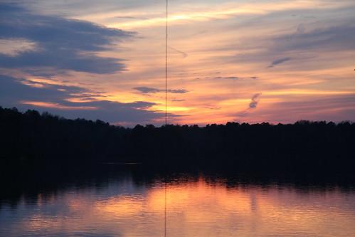 Lake Wheeler Sunset
