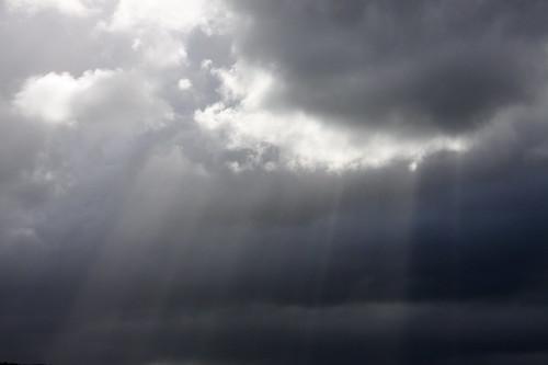 Stormy Sun Beams