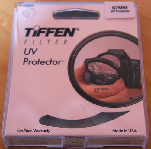 Tiffen 67mm UV Filter Box