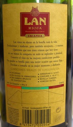 Lan Rioja Label