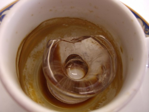 Ice in Coffey Cup