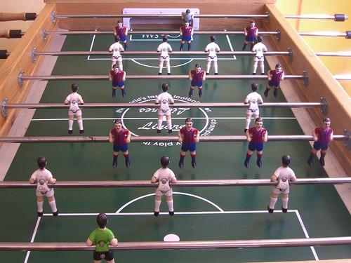 Real Madrid vs. Barcelona Foosball