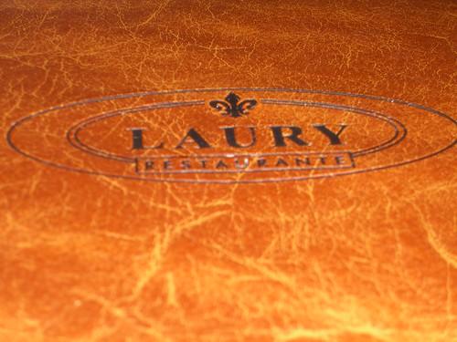 Laury Menu Cover
