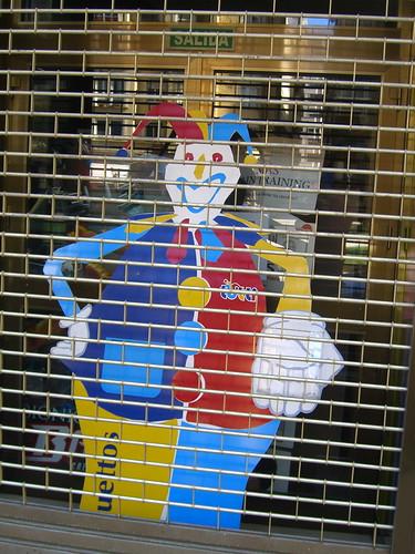 Imprisoned Clown