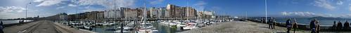 Santander Docks Panorama