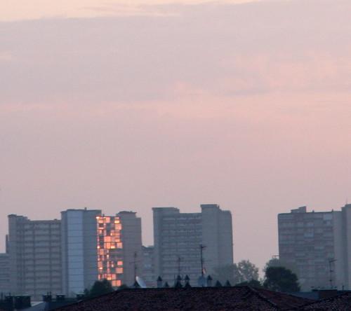 Sunrise On Highrise