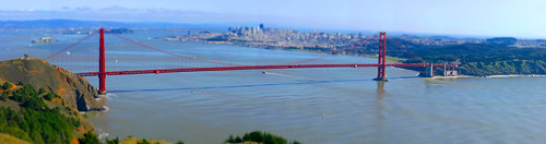 Golden Gate Tilt Shift