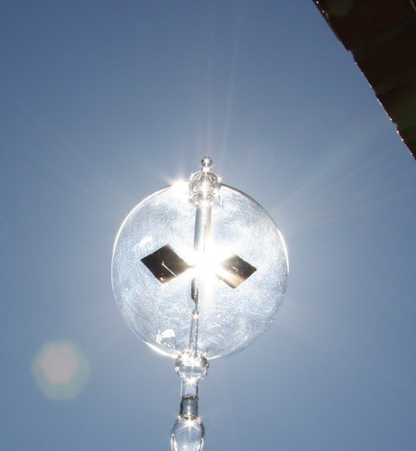 Crookes Radiometer in Sunlight