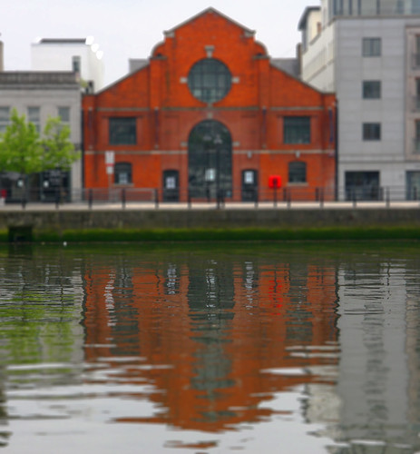 River Liffey Reflection