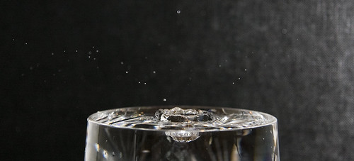 Water Drop Hits Water