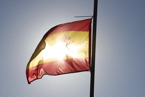 Sunlit Spanish Flag