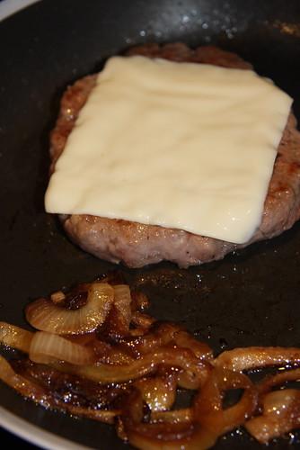 Cheeseburger and Onion