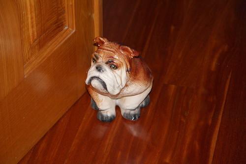 Bulldog Door Stop