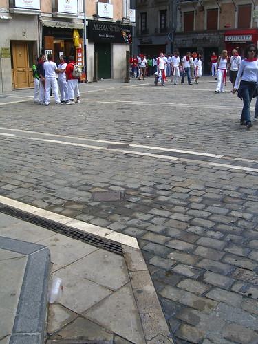 Pamplona Fence Post Holes