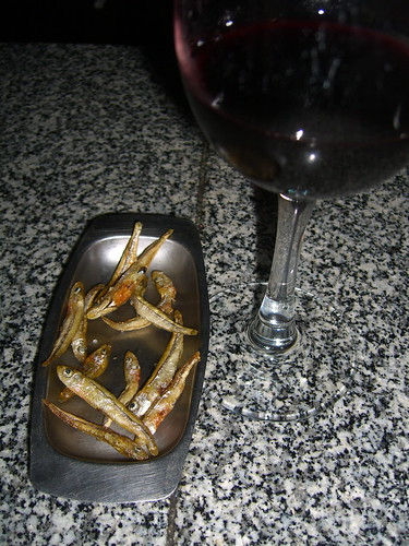 Little Fishies with Wine