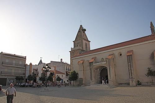 Town Square and Grandpa