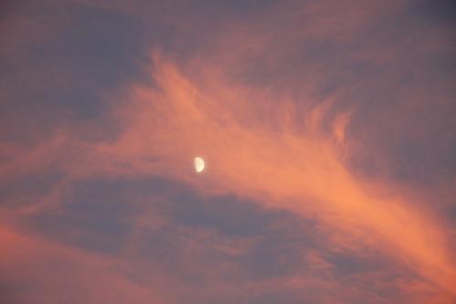 Moon in Red Shroud
