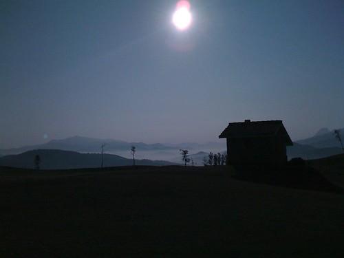 Misty mountain golf