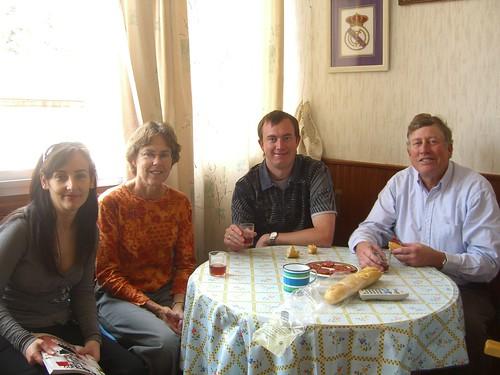Marga, Betsy, Erik, and Paul