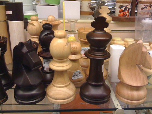 Chess Pepper Mills