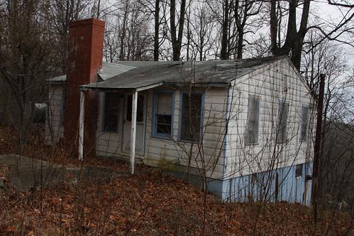 Overrun old house