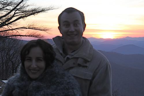 Erik and Marga at Sunset