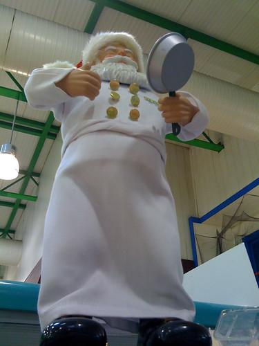 Frying Pan Santa
