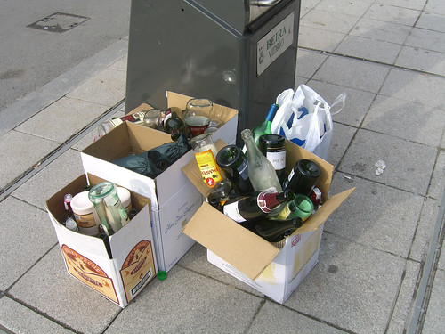 Post New Years Eve Recycling