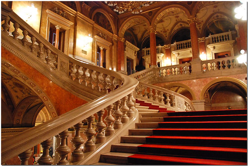 Stairs - Budapest Opera House