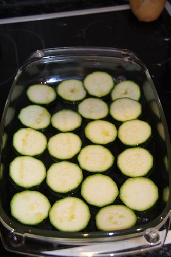 Zucchini pre-bake