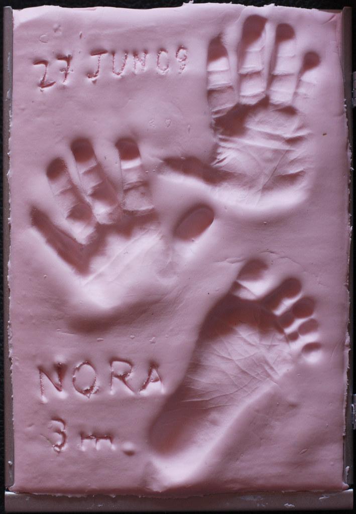 Handprints - 3 Months