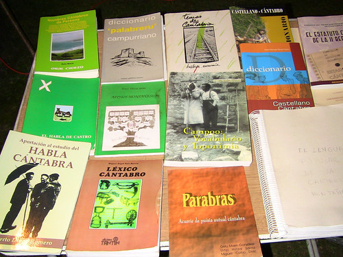 Books to learn Cantabrian Language