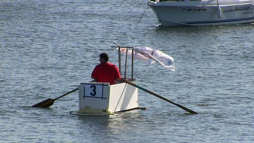 Bathtub Rowing