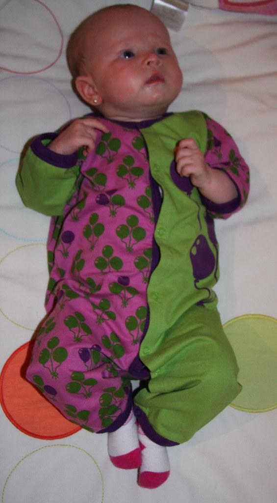 Purple and Green Pajamas