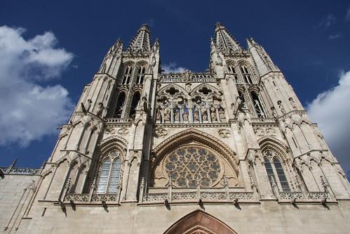 Burgos Cathedral Sky
