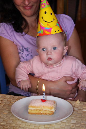I'm half a year old!