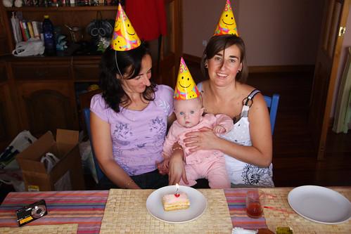 Marga, Belén and Nora