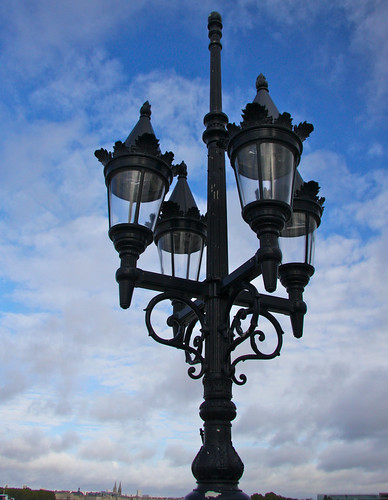 Lamps on Pont de Pierre